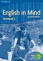 English in Mind 2nd Edition Level 5 - Workbook cena od 252 Kč