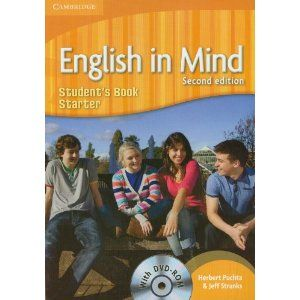 English in Mind 2nd Edition Starter Level - Student's Book + DVD-ROM cena od 282 Kč