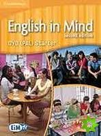 English in Mind 2nd Edition Starter Level - DVD cena od 1048 Kč