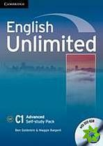 English Unlimited Advanced - Self-study Pack (WB + DVD-ROM) cena od 286 Kč