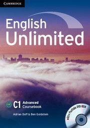 English Unlimited Advanced - Coursebook with e-Portfolio cena od 506 Kč