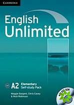 English Unlimited Elementary - Self-study Pack (WB + DVD-ROM) cena od 286 Kč