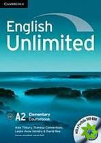 English Unlimited Elementary - Coursebook with e-Portfolio cena od 366 Kč