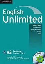 English Unlimited Elementary - Teacher's Pack (TB + DVD-ROM) cena od 684 Kč