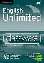 English Unlimited Elementary - Classware DVD-ROM cena od 2696 Kč