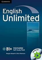 English Unlimited Intermediate - Self-study Pack (WB + DVD-ROM) cena od 286 Kč