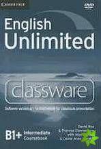 English Unlimited Intermediate - Classware DVD-ROM cena od 2696 Kč