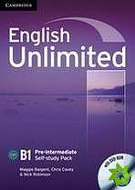 English Unlimited Pre-Intermediate - Self-study Pack (WB + DVD-ROM) cena od 286 Kč