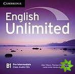 English Unlimited Pre-Intermediate - Class Audio CDs (3) cena od 424 Kč