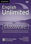 English Unlimited Pre-Intermediate - Classware DVD-ROM cena od 2 696 Kč