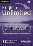 English Unlimited Pre-Intermediate - Classware DVD-ROM cena od 2696 Kč