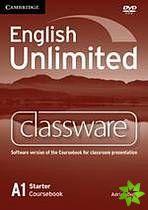 English Unlimited Starter - Classware DVD-ROM cena od 2696 Kč