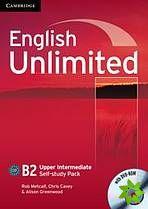 English Unlimited Upper-Intermediate - Self-study Pack (WB + DVD-ROM) cena od 286 Kč