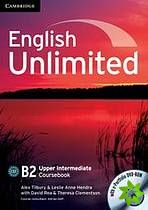 English Unlimited Upper-Intermediate - Coursebook with e-Portfolio cena od 506 Kč