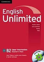 English Unlimited Upper-Intermediate - Teacher's Pack (TB + DVD-ROM) cena od 684 Kč