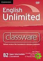 English Unlimited Upper-Intermediate - Classware DVD-ROM cena od 2696 Kč