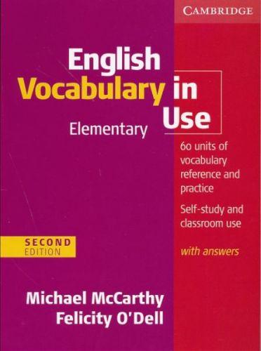 English Vocabulary in Use 2nd Edition Elementary cena od 536 Kč