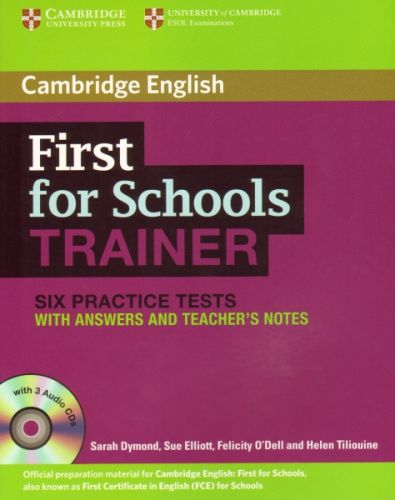 First for Schools Trainer - Practice Tests with answers and Audio CDs (3) cena od 368 Kč