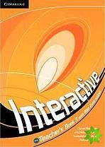 Interactive 3 - Teacher's Book cena od 608 Kč