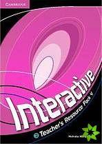 Interactive 4 - Teacher's Resource Pack cena od 608 Kč