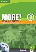 More! Level 1 - Workbook with Audio CD cena od 220 Kč