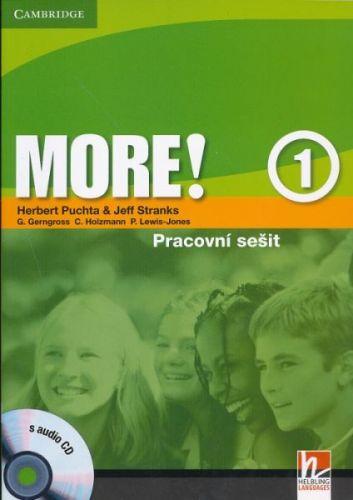 More! Level 1 - Cz Workbook with Audio CD cena od 234 Kč