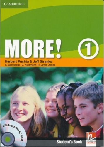 More! Level 1 - Student's Book with interactive CD-ROM cena od 284 Kč