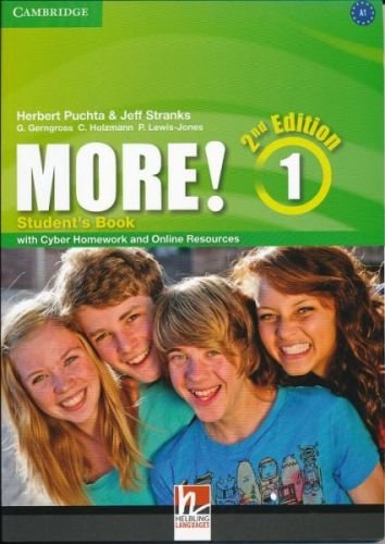 Herbert Puchta&Jeff Stranks: More! Level 1 2E Student's Book with Cyber Homework and Online Resources cena od 373 Kč