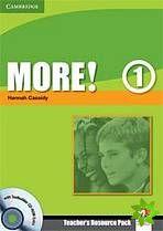 More! Level 1 - Teacher's Resource Pack with Testbuilder CD-ROM Extra cena od 159 Kč
