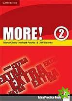More! Level 2 - Extra Practice Book cena od 144 Kč