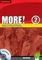 More! Level 2 - Workbook with Audio CD cena od 265 Kč