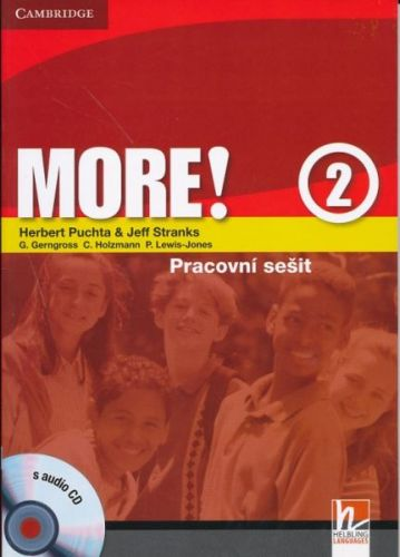 Herbert Puchta: More! Level 2 - Cz Workbook with Audio CD cena od 237 Kč