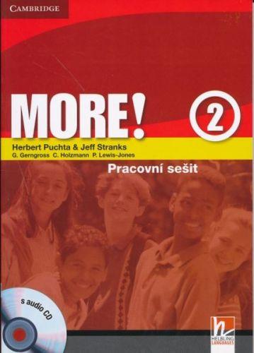 Herbert Puchta: More! Level 2 - Cz Workbook with Audio CD cena od 237 Kč
