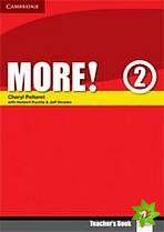More! Level 2 - Teacher's Book cena od 564 Kč