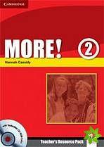 More! Level 2 - Teacher's Resource Pack with Testbuilder CD-ROM Extra cena od 668 Kč
