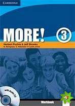 More! Level 3 - Workbook with Audio CD cena od 212 Kč