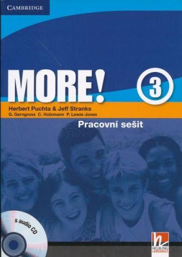 Herbert Puchta: More! Level 3 - Cz Workbook with Audio CD cena od 228 Kč