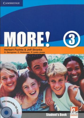 Herbert Puchta: More! Level 3 - Student's Book with interactive CD-ROM cena od 295 Kč