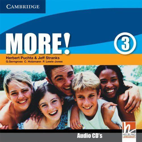 More! Level 3 - Class Audio CDs (2) cena od 436 Kč