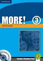 More! Level 3 - Teacher's Resource Pack with Testbuilder CD-ROM Extra cena od 668 Kč