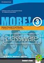 More! Level 3 - Classware CD-ROM cena od 1469 Kč