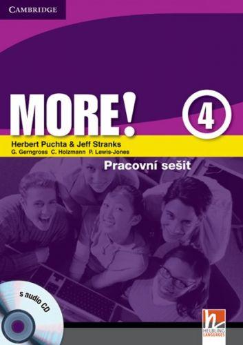 More! Level 4 - Cz Workbook with Audio CD cena od 228 Kč