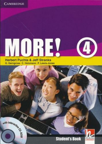Herbert Puchta: More! Level 4 - Student's Book with interactive CD-ROM cena od 280 Kč