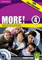 More! Level 4 - Student's Book with interactive CD-ROM with Cyber Homework cena od 364 Kč