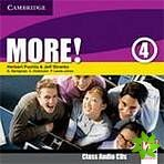 More! Level 4 - Class Audio CDs (2) cena od 436 Kč