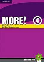More! Level 4 - Teacher's Book cena od 548 Kč