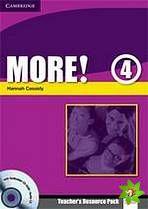 More! Level 4 - Teacher's Resource Pack with Testbuilder CD-ROM Extra cena od 668 Kč