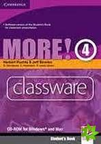 XXL obrazek More! Level 4 - Classware CD-ROM