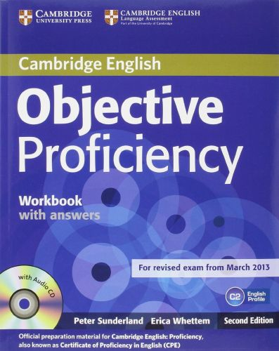 Objective Proficiency 2nd Edition - Workbook with answers with Audio CD cena od 290 Kč