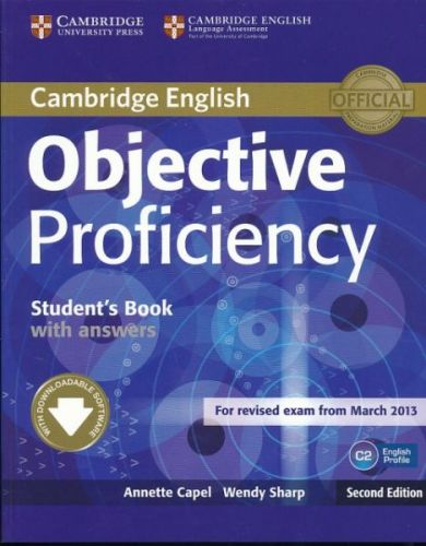 Annette Capel + Wendy Sharp: Objective Proficiency 2nd Edition - Student's Book with answers with Downloadable Software cena od 504 Kč